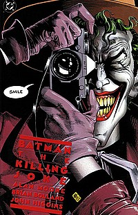 Batman: The Killing Joke okładka joker