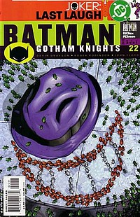 Batman: Gotham Knights #22 okładka