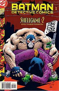 Detective Comics #740 okładka joker bane