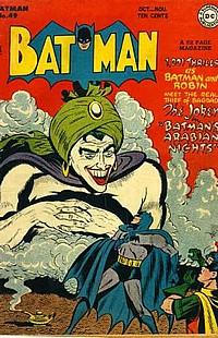 batman #49 okładka robin joker
