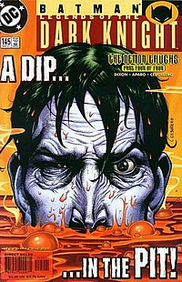 Legends Of The Dark Knight #145 okładka joker