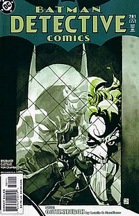 Detective Comics #781 batman joker