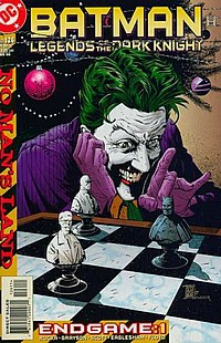 Legends Of The Dark Knight #126 okładka joker