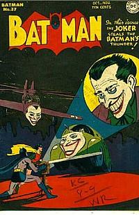 batman 37 okładka joker robin