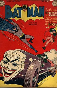 batman 52 okładka batman robin joker