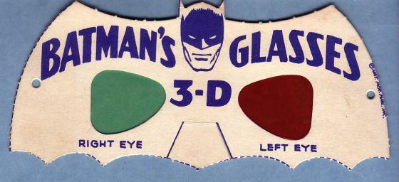 batman 3d okulary 1966 rok