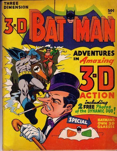 batman 1966 robin 3D okładka