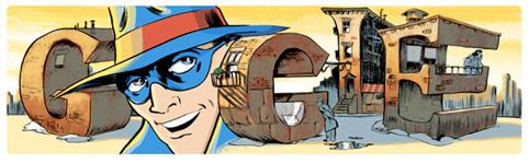 Will Eisner Google Logo