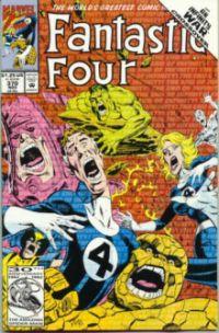 fantastic four the infinity war okładka