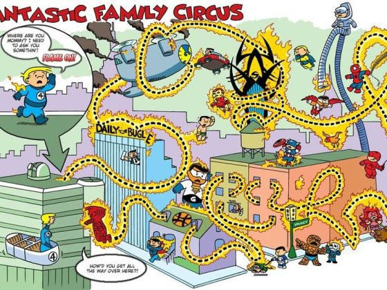 Family Circus  spotyka The Fantastic Four