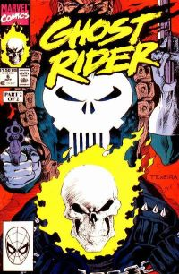 ghost rider mega marvel punisher