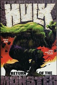 The Incredible Hulk # 34 okładka