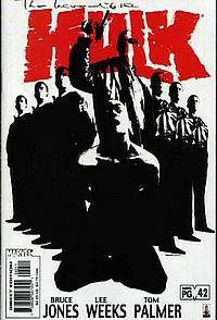 The Incredible Hulk 42 okładka