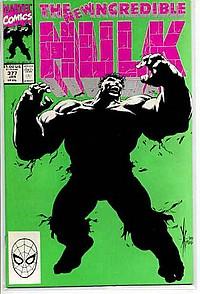 The Incredible Hulk 377 okładka