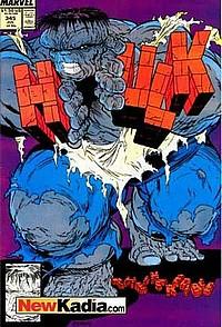 The Incredible Hulk 345 okładka