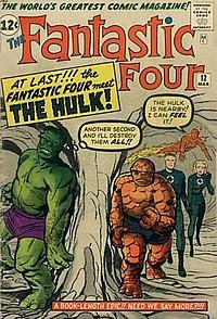 fantastic four #12 okładka