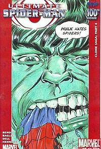 Ultimate Spider-Man #100 hulk okładka