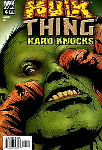 hulk/thing hard knocks okładka