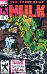 incredible hulk the punisher okładka