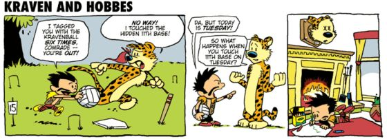 Calvin and Hobbes i Spider-Man