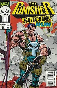 the punisher suicide run liam sharp okładka