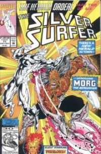 silver surfer mega marvel